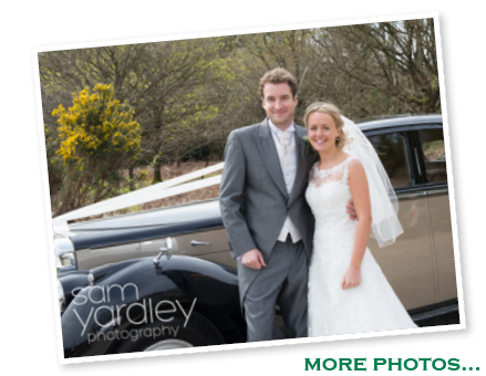 Christina and Rob with our Bentley - click for more photos