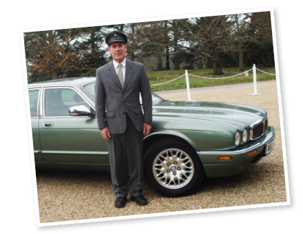 Keith, our Bentley wedding car chauffeur
