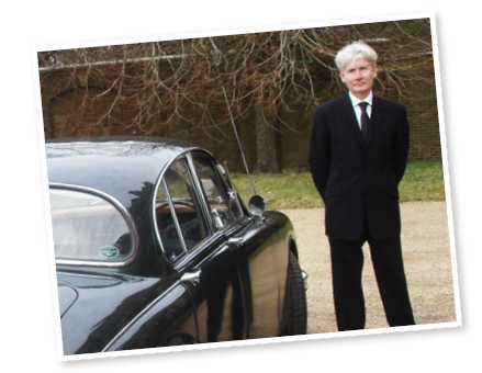 Paul, our Rolls Royce wedding car chauffeur