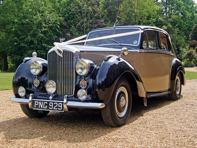 Bentley wedding car hire Sussex