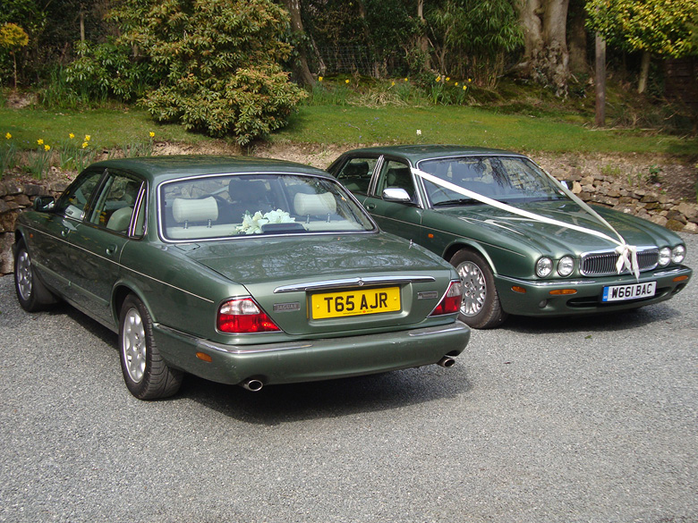 Jaguar XJ8 Bridesmaids' Car