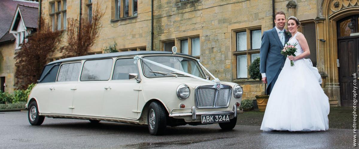 Stretch Mini wedding car