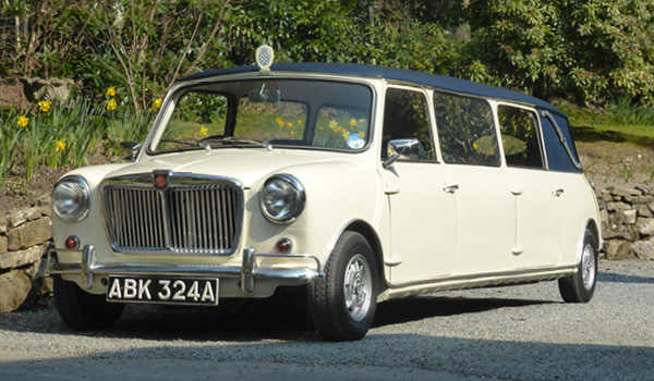 Stretch Mini Limousine wedding car in Sussex and Kent