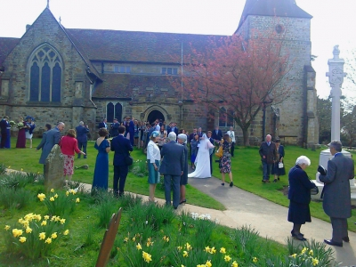 Ruth and Steven's wedding in Buxted