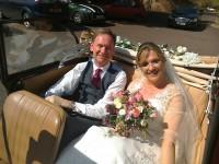 Morris Minor wedding car in Sussex
